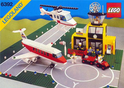 LEGO flyplassen