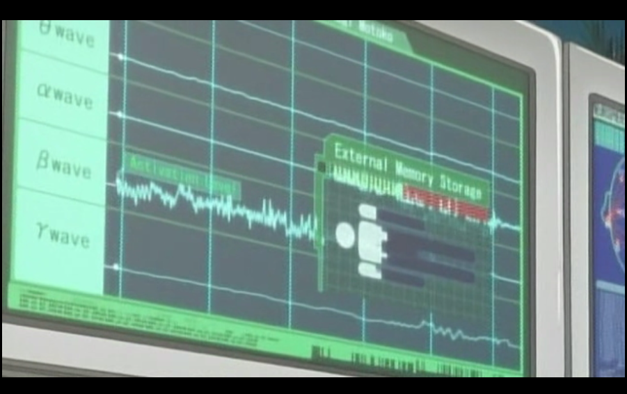 Ghost in the Shell: Health monitor