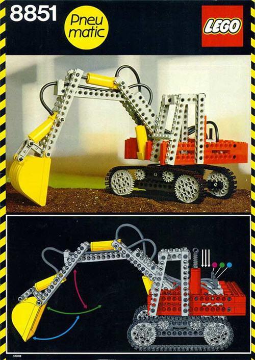 LEGO Technics gravemaskin